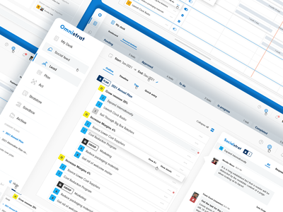 Strategic planning and execution application clear design simple design tool platform app ui design ui ux design ux planning strategy