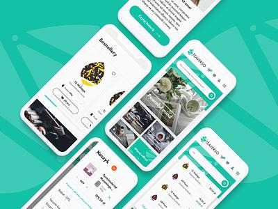 TEAVERSO webshop process flow user experience branding webdesign product design web design user interface e-commerce webshop shop design ux ui design ui
