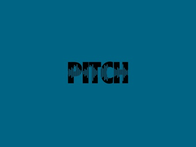DAILY LOGO CHALLENGE D08/50 pitch branding logo vector daily logo challenge dailylogochallenge typography