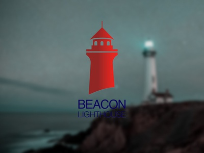 DAILY LOGO CHALLENGE D30/50 lighthouse logo lighthouse illustration branding vector typography logo design daily logo challenge dailylogochallenge