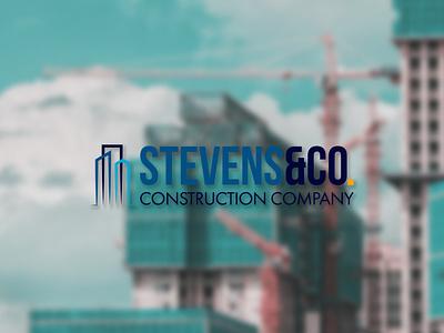 DAILY LOGO CHALLENGE D45/50 construction company construction logo construction constructor branding vector typography logo design daily logo challenge dailylogochallenge