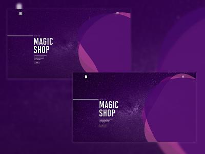 Magic Shop websites uxui design ux ui design ux design uxuidesign uidesign ui design uxdesign ux  ui uxui screen design screen webdesign website design web design website web ux ui design