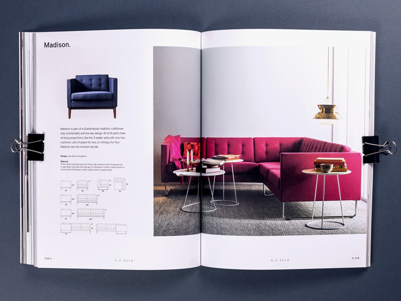 Swedese Catalogue 2016 u2013 Swedish Design Award by Pontus Brenner Dribbble