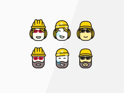 Workwear avatars