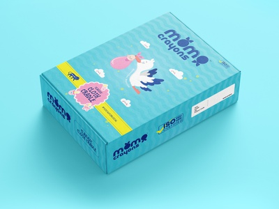 Momo Crayons Packaging Design Work creative design illustration design branding digital marketing digital marketing company digital marketing agency packaging mockup packaging design packagingdesign