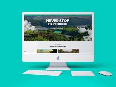 Tripster Holidays Website Design Work kannur branding branding design illustration digital illustration digital marketing services creative design digital marketing digital marketing company digital marketing agency