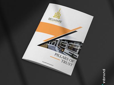 BELLMARE VENTURES COMPANY PROFILE WORK logo design client work company profile brochure branding