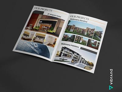 BELLMARE VENTURES COMPANY PROFILE WORK brochure design company profile