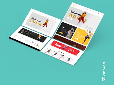 WILLOW WEBSITE DESIGN WORK 3d motion graphics graphic design animation design logo vector illustration creative design branding digital marketing digital marketing company digital marketing agency