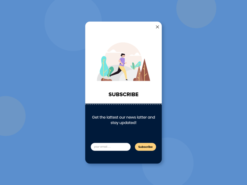 Daily UI 026 - Subscribe uidesign subscription dailyuichallenge subscribe appdesign ui dailyui