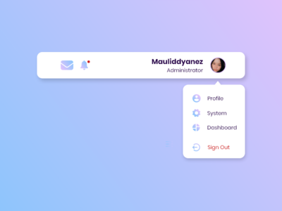 Daily UI 027 - Dropdown dropdown daily ui challenge daily ui 027 daily ui