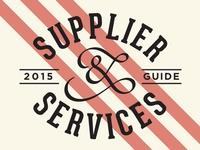 Supplier & Services Guide