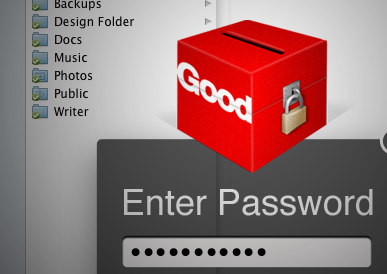 Dropbox clone for enterprise proposal ui mac password folders lock