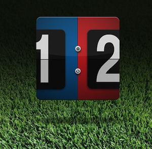 A simple scorecard application ios sports app icon score grass game