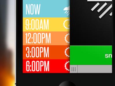 Slide to Turn Off Alarm Interaction ios app alarm slide interaction