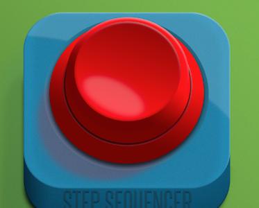 Button button icon psd