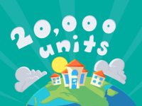20000 Units Illustartion