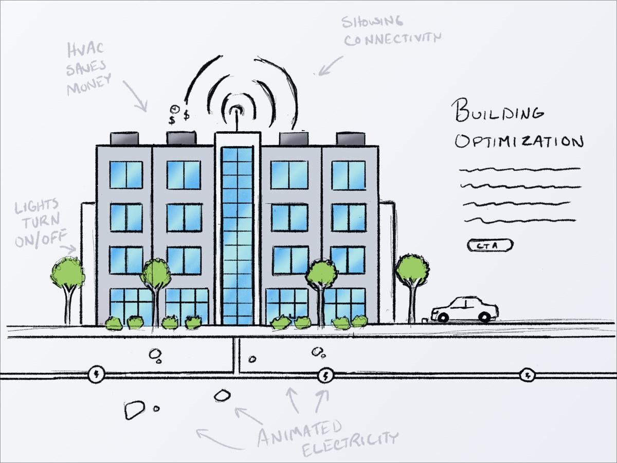 Building optimization sketch