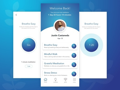 Daily UX #1 - Mindfulness App