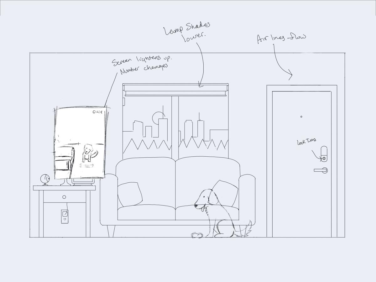 Resident sketch
