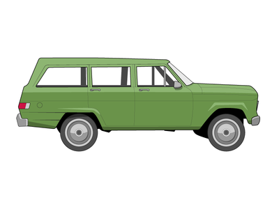 SUV illustration car suv