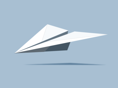 Paper Airplane paper airplane photoshop illustration