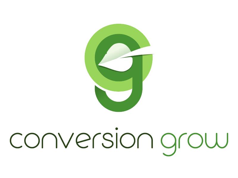 Conversion Grow Logo logo illustrator
