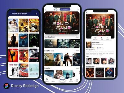Disney+ App Redesign