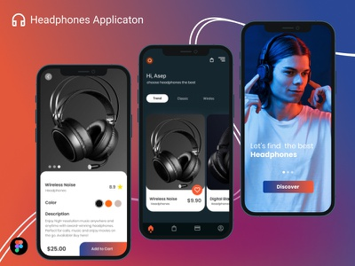 Headphone Application