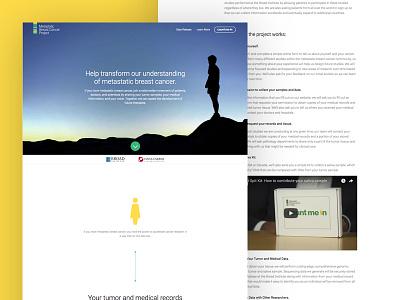 The Broad Institute design ux ui logo website