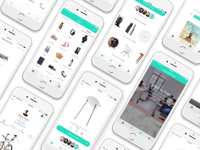 Canopy - Mobile App android ios curated branding minimal mobile ux design ui design application branding design product design ui ux responsive website