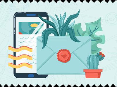 Newsletter Illustration digital art illustration digital illustrator adobe illustrator illustration art design digital illustration illustration newsletter graphics newsletter