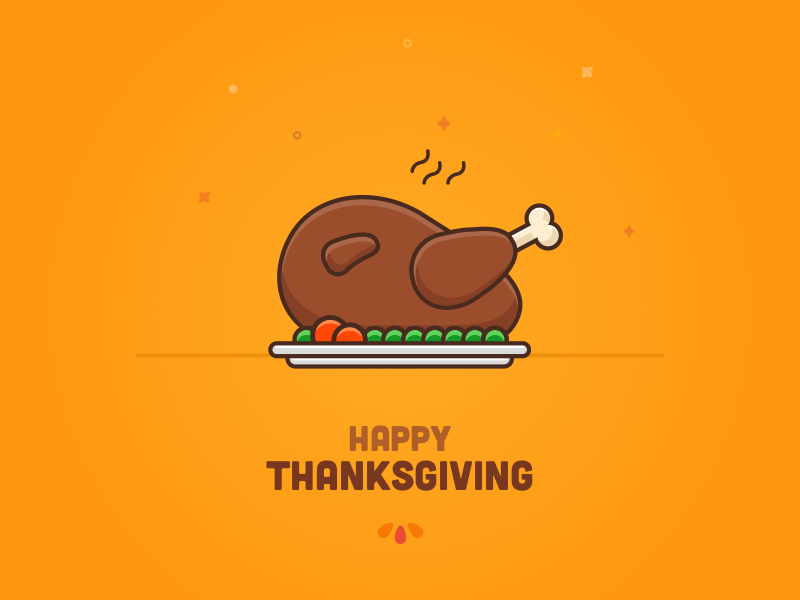 Happy Thanksgiving! turkey autumn fall design holidays tarful icon vector illustration thanksgiving