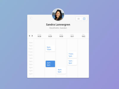 Timekit calendar widget booking scheduling calendar widget timekit.io timekit