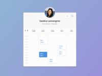 Timekit calendar widget