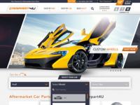 Auto Parts Wholesaler Homepage