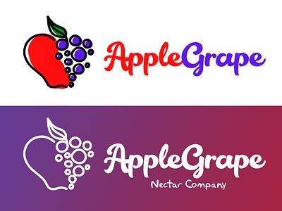 Juice & Jam Shop Logo Design logo package design juice jelly jar jam grap branding bottles apple