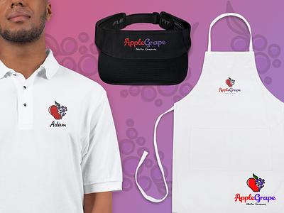 Juice & Jam Shop Apparel Design graphics apparel print retail identity branding shirt polo apron visor jam jelly juicery juice