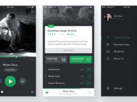 DIX Mobile App travel dark mobile guide audio museum