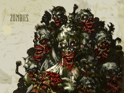 #31DaysofMonsters DAY 31: Zombies