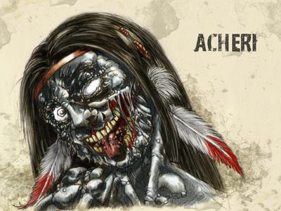#31DaysofMonsters Day 5: Acheri