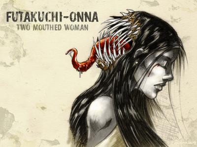 #31DaysofMonsters DAY 6: Futakuchi-onna