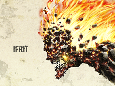 #31DaysofMonsters DAY 15: Ifrit