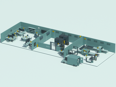 Isometric rooms car rooms characters isometric
