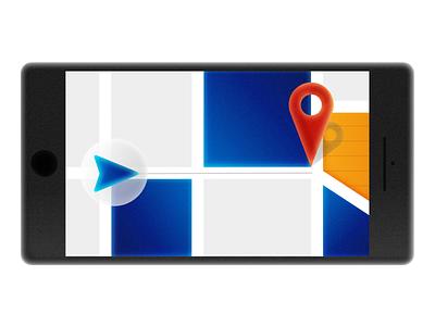 Maps application