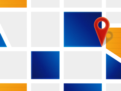 Map Pin tag pin map gps flat illustration vector design