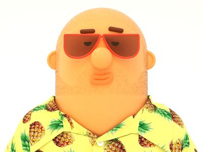 Carlos marvelous designer character cinema4d 3d