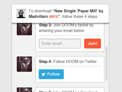 Just remember all caps when you spell the man's name. doom downloads ui buttons button entry design
