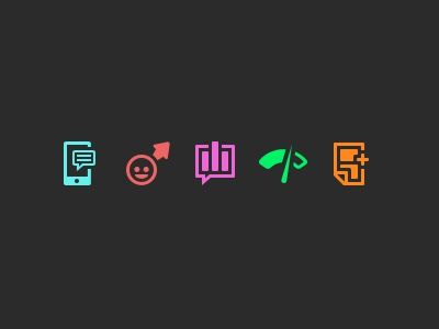 Icon Work  icon ui pixel interface illustration icons color