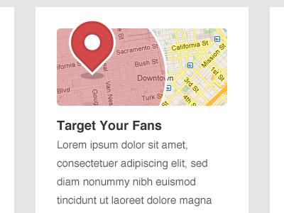 Target Fans fans illustration web design